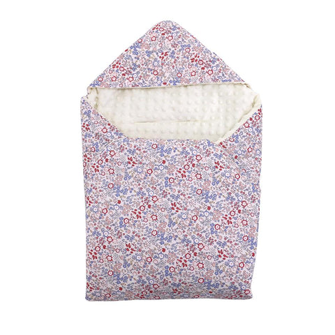 Little Loves Violet Floral Carseat Blanket