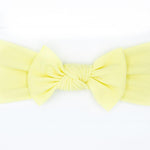 Little Bow Pip - Lemon Pippa Bow