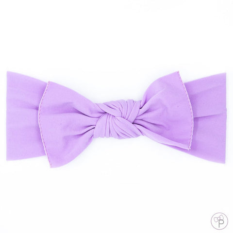 Little Bow Pip - Lilac Pippa Bow