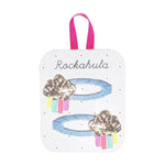 Rockahula Rainy Cloud Glitter Clips