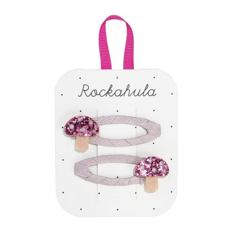 Rockahula Magical Toadstool Glitter Clips