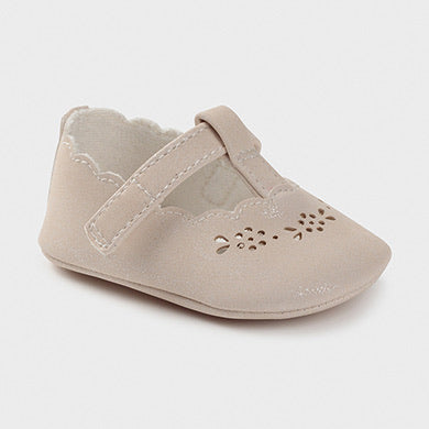 Mayoral Newborn Baby Girl Frost Pumps