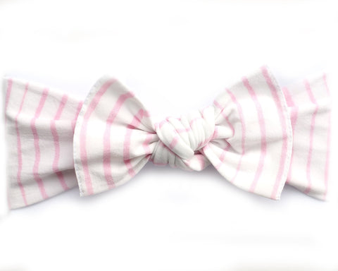*New* Candy Stripe Pippa Bow