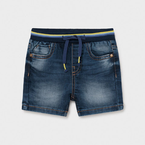 Mayoral ECOFRIENDS organic denim shorts for baby boy