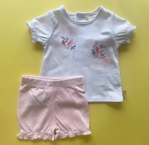 Carrement Beau 2 Piece Short and Tee Set