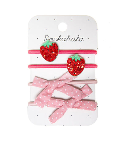 Rockahula Strawberry Hair Bobbles