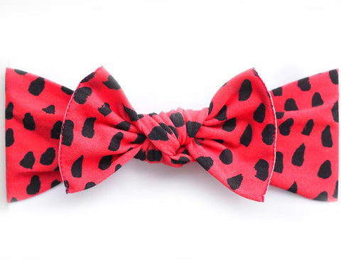 Little Bow Pip - Watermelon Print Pippa Bow