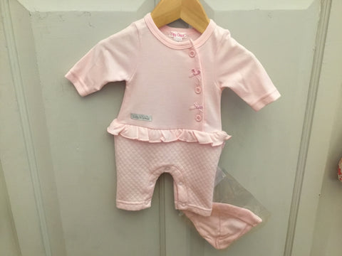Tiny Baby Pink 2 Piece Peplum Set