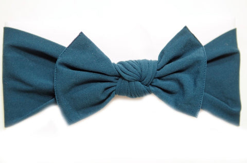 * NEW * Teal Little Bow Pip Pippa Bow