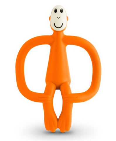 Matchstick Monkey 2-in-1 Teething Toy - Orange