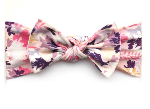 * NEW * Autumn Leaves Pippa Bow -Little Bow Pip
