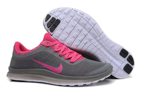 Nike trainer grey bright pink