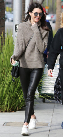 Kendall Jenner in Black Tights