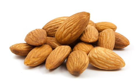 healthy sack food almonds