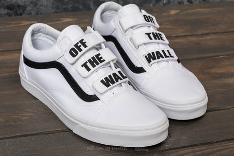 Vans Off the Wall V Sneaker White