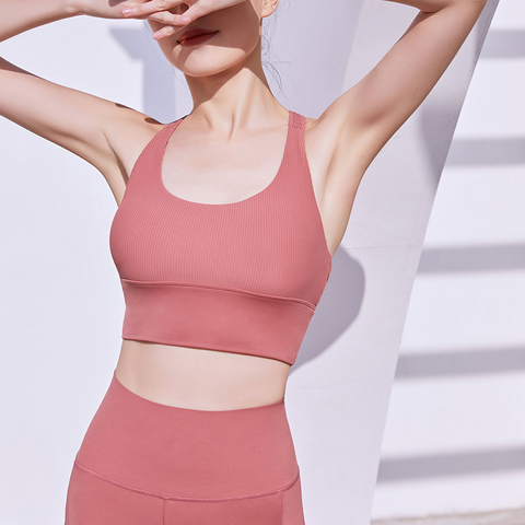 Sara Blush Crop Top