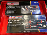 Sealey Topchest & Rollcab 1233pc Tool Kit