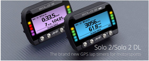 AIM SOLO 2 / SOLO 2 DL LAP TIMER (Free Installation and Tuition)