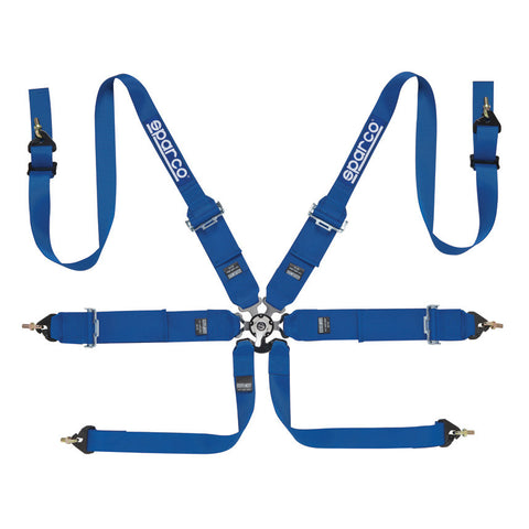Sparco 6 point FIA Harness FHR 2""