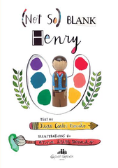 Goose Grease - (Not So) Blank Henry - Children's Board Book