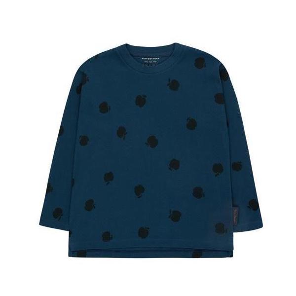 Apples LS Tee - Navy