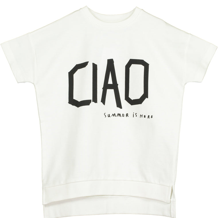 'CIAO' Squared Sweater
