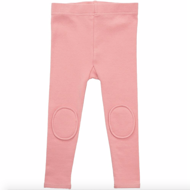 Knee Patch Legging - Pink