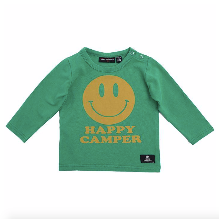 Happy Camper LS Shirt - Baby