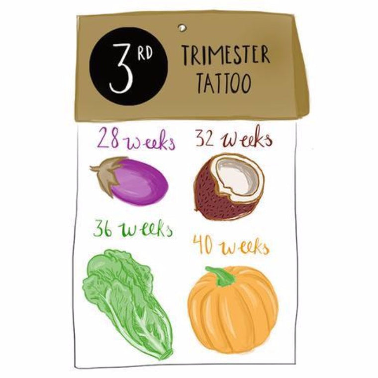 3rd Trimester Tattoos