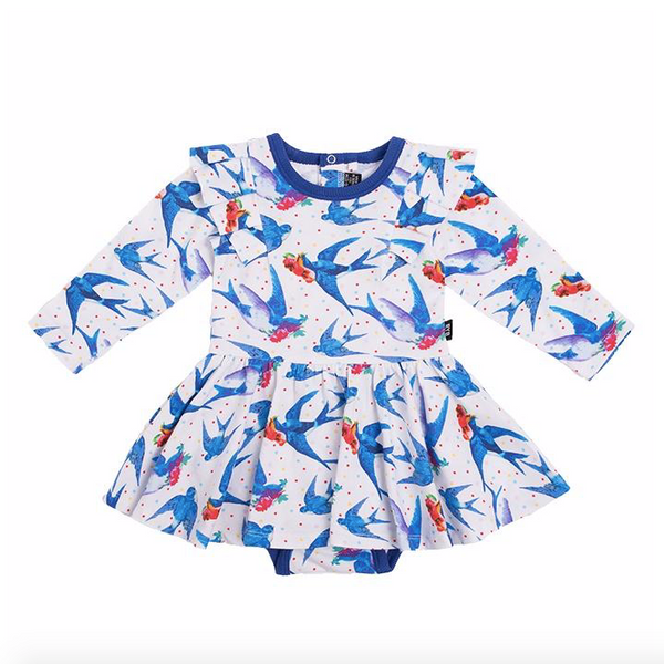 Oh Happiness LS Mabel Dress - Baby