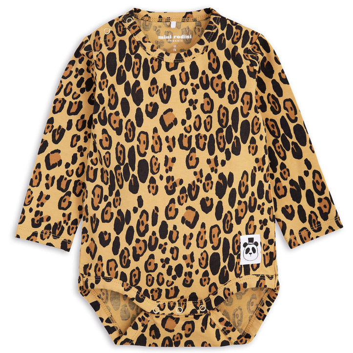 Basic Leopard Body - Beige
