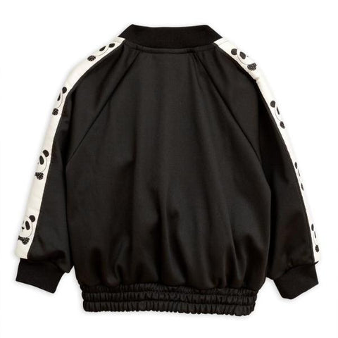 Panda Trim Jacket - Black