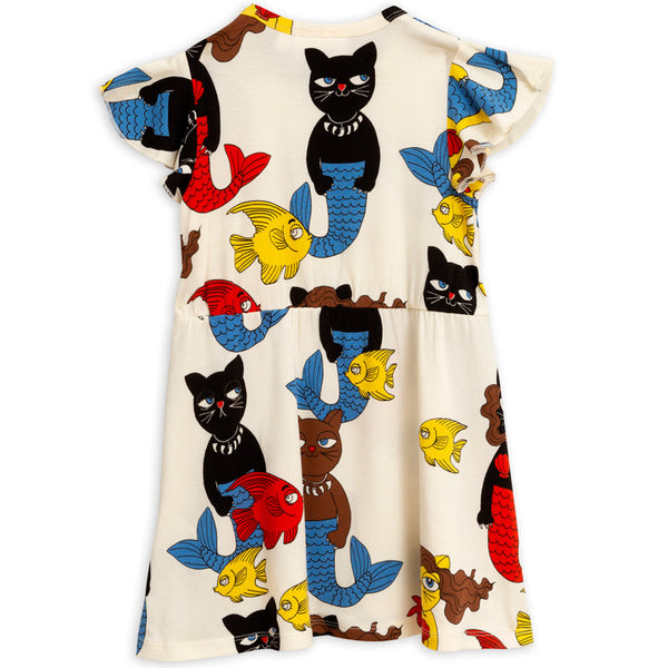 Cat Mermaid Wing Dress