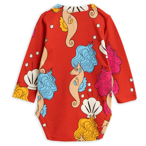Seahorse LS Body - Red