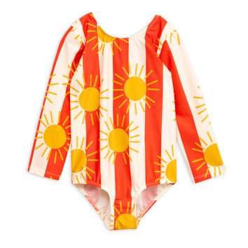 Sun Stripe LS Swimsuit