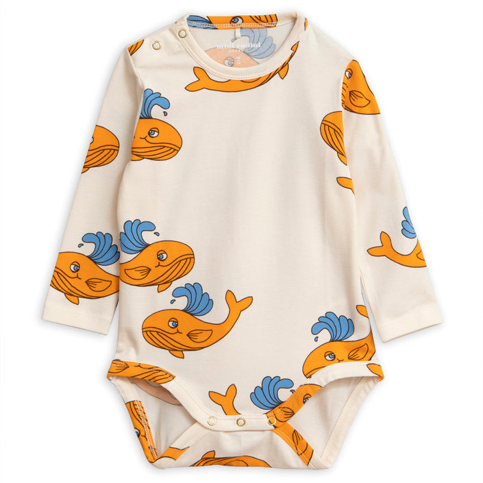 Whale LS Body - Orange
