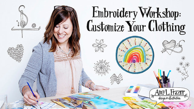Customize Your Clothing with Embroidery Workshop