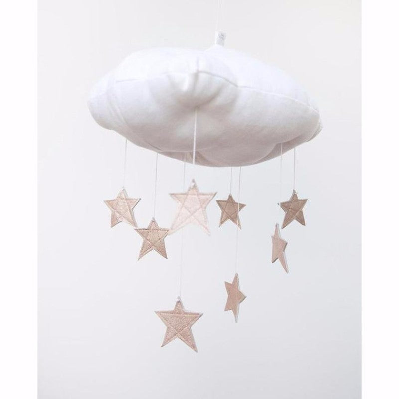 Rose Gold Star Cloud Mobile