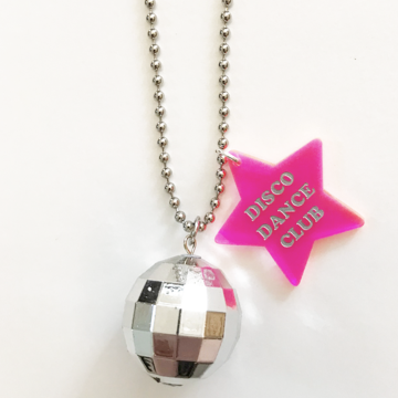 Disco Dance Club Necklace