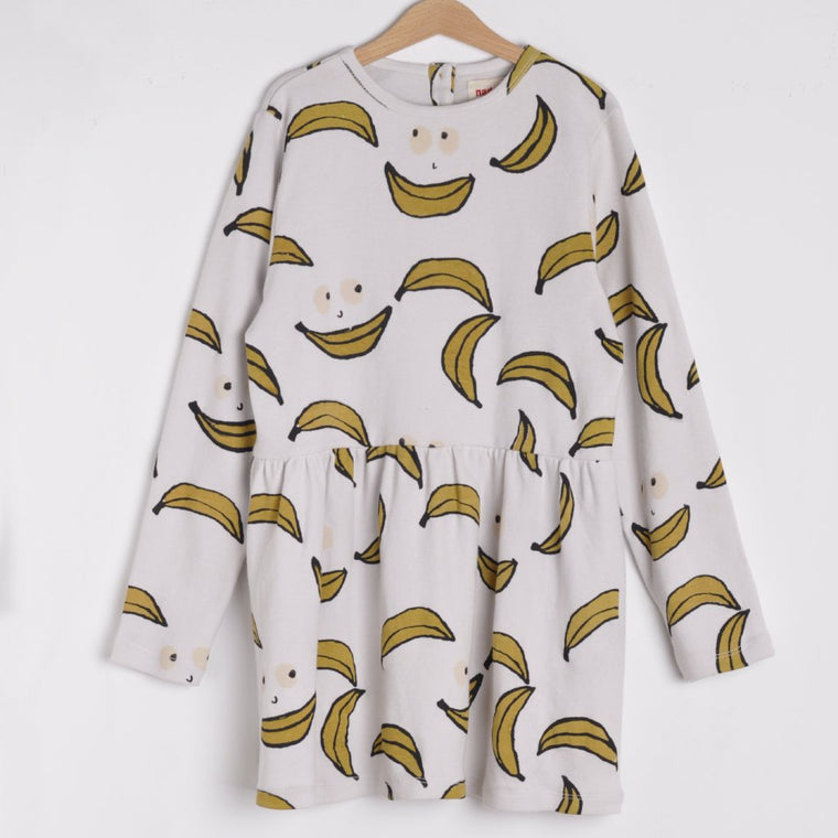 Nadadelazos AOP Banana Faces Dress