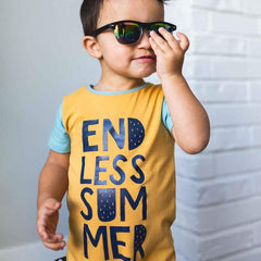 Short Sleeve Short Rag - Endless Summer Amber Gold