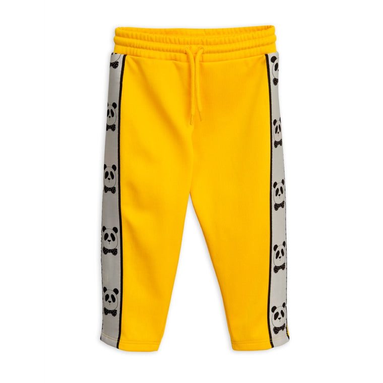 Panda Trim Pants - Yellow