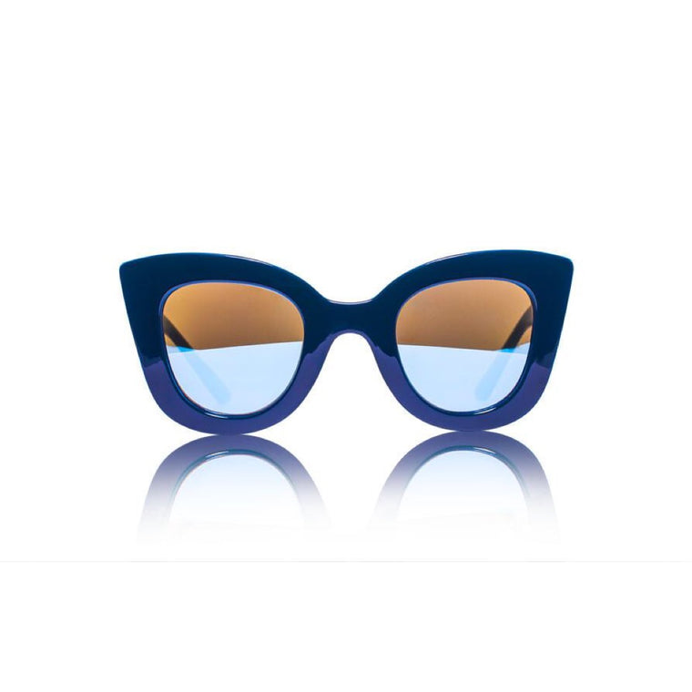 Cat Cat Sunglasses - Navy