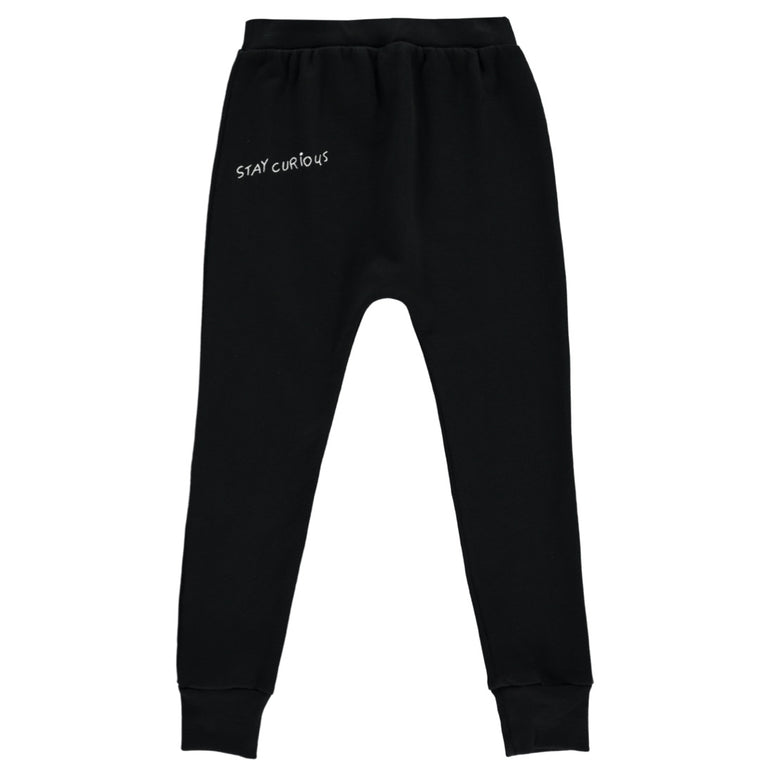 'Stay Curious' Velo Pants