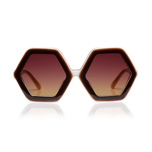 Honey Sunglasses - Chocolate Layer