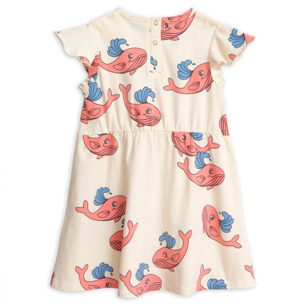 Whale Wing Dress - Pink