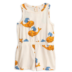 Whale Summersuit - Orange