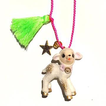 La La the Lamb Necklace