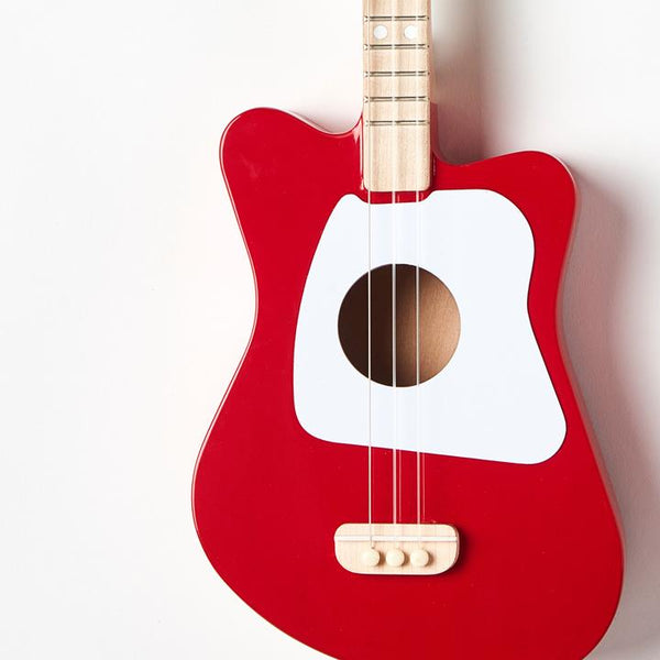 Red Mini Guitar