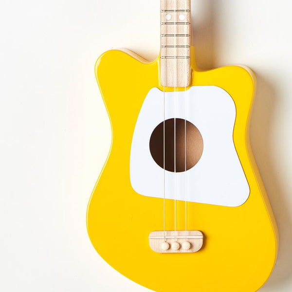 Yellow Mini Guitar